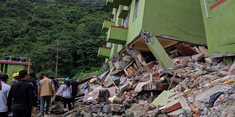 mizoram house collapse