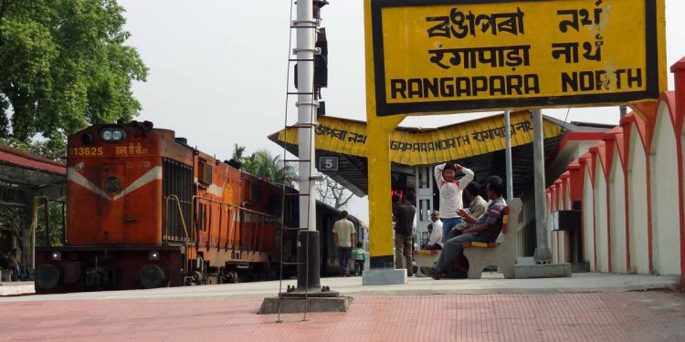 Rangapara Railway Station
