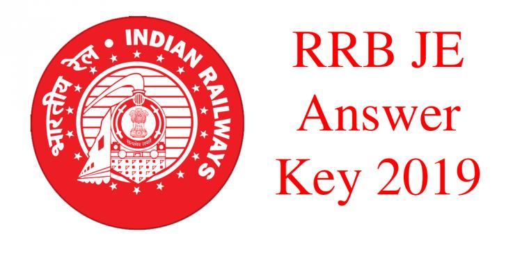 RRN JE Answer Key 2019