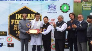 Sikkim: Indian Football Awards presented in grand manner 1