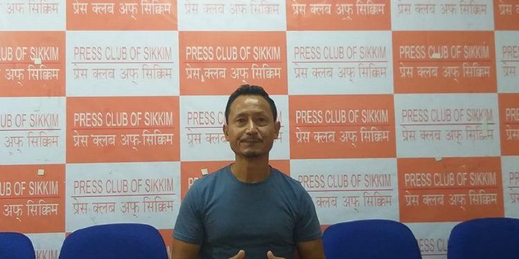 File image of Marathon man of Sikkim, Amar Subba Image: Northeast Now