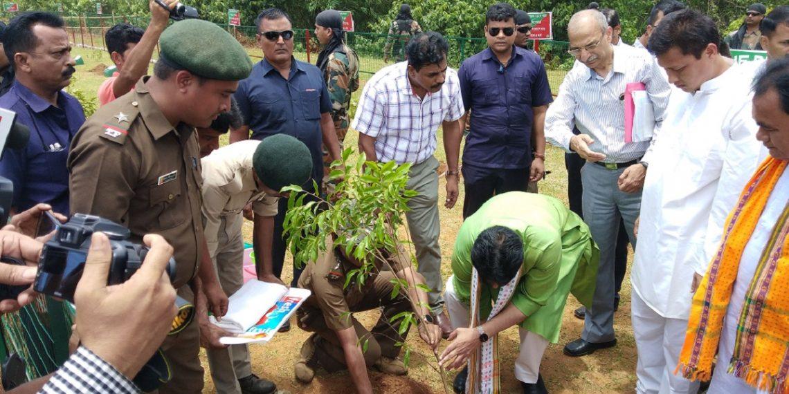 Tripura Celebrates Vanamahotsava With Target Of One Person One Plant