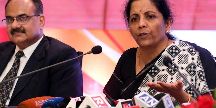 File image of Union finance minister Nirmala Sitharaman.