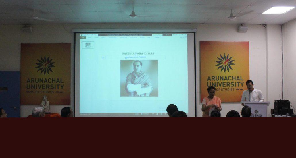 Rajiv Gandhi recalled at Arunachal University of Studies, across Assam 1