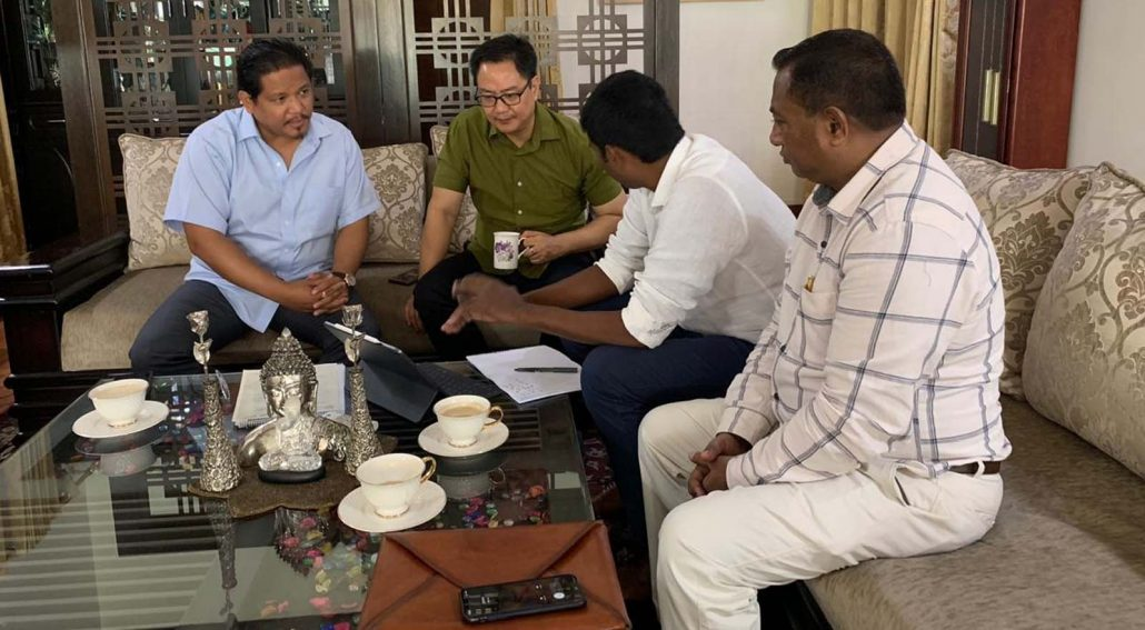 National Games 2022: Rijiju assures support to Meghalaya 1