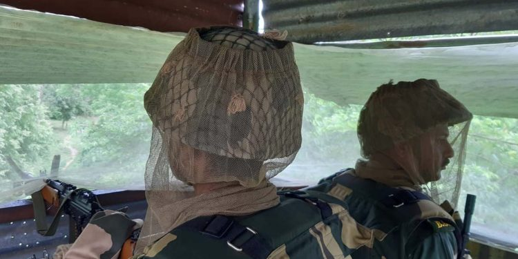 BSF with mask