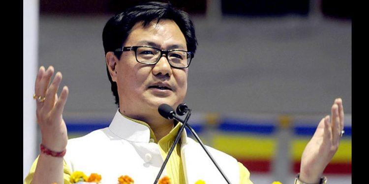 Sports minister Kiren Rijiju (File image)