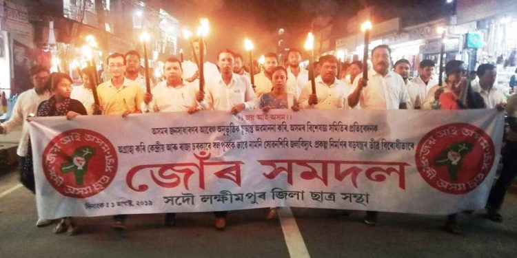 AASU protests against NGT clearance to LSHEPP