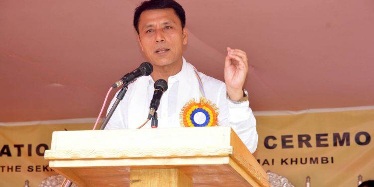 Manipur education minister Th Radheshyam. Image: Northeast Now