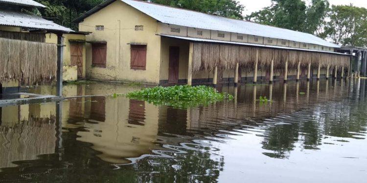 flood affected school