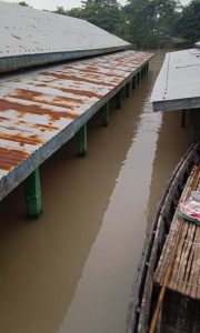 flood affected school