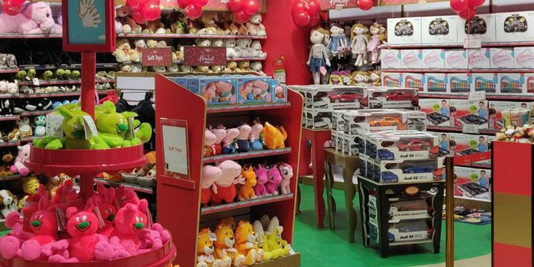 Newly launched Hamleys store