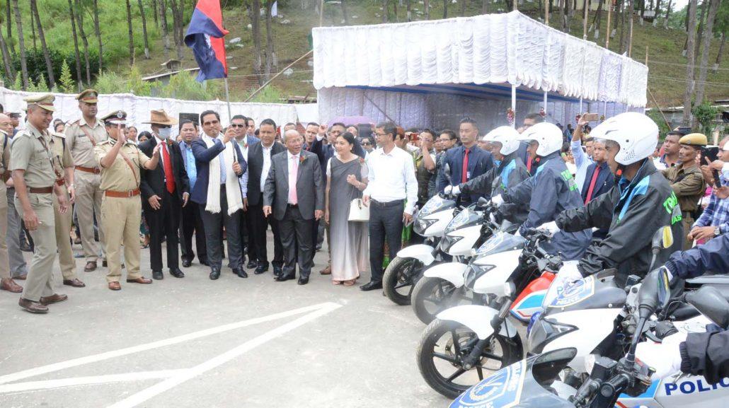 Meghalaya CM inaugurates Shillong Mawlai Bypass, Mawkynroh Police Outpost 1