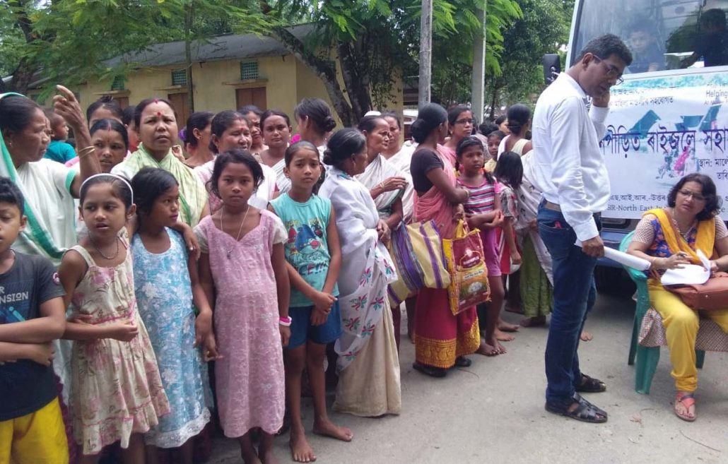 Assam: CSIR-NEIST Jorhat distributes relief among flood-hit villagers 1