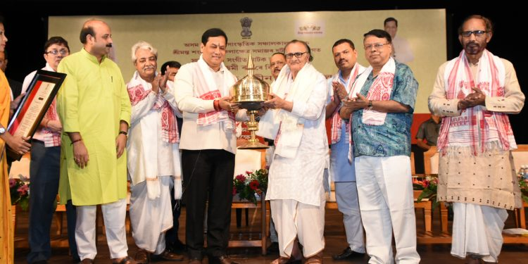 Jatin Goswami felicitated