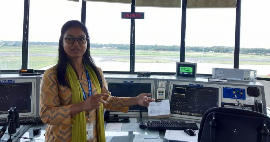 Never give up, tells Bipasha, Tripura's first lady air traffic controller 1