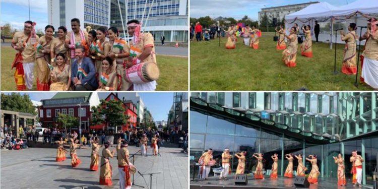 Assam folk dances in Iceland