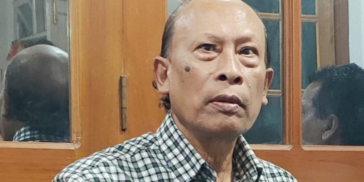Bindo M Lanong (file image)
