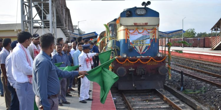 A total of 214 passengers boarded the new train in its first journey.