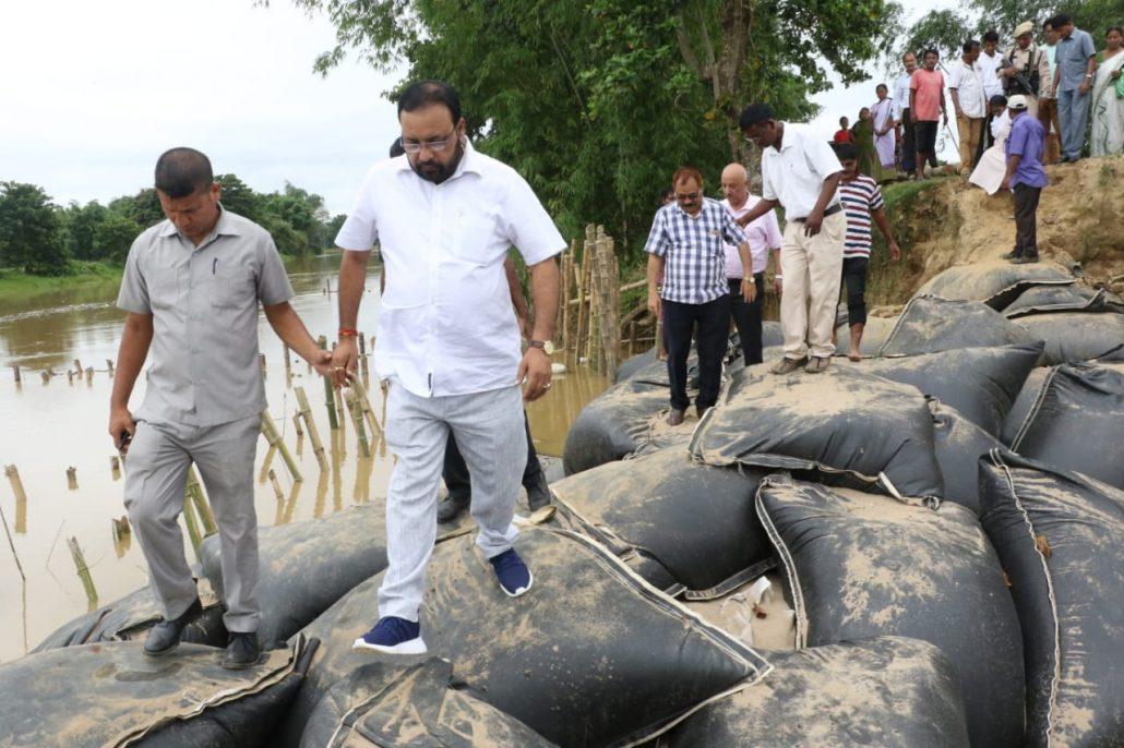 Keshab Mahanta announces Rs 4.95 crore for Bhogdoi embankment 5