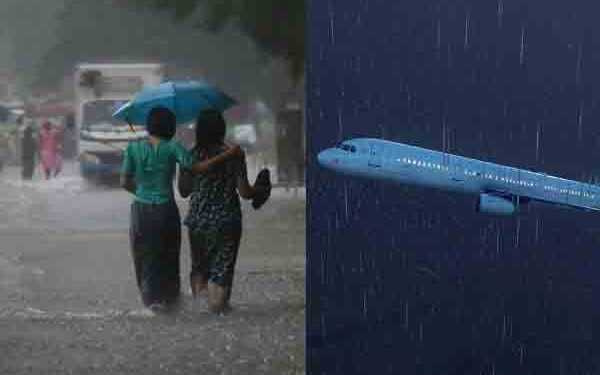 Heavy rain and thunderstorm disrupt flight service in Kolkata, air passengers from Guwahati caught in uncertainty 1