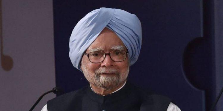File photo of Dr Manmohan Singh.