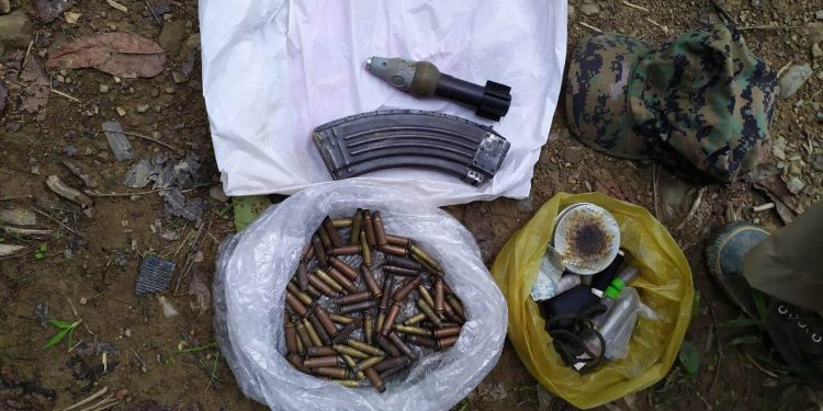 A joint team of police and Assam Rifles  busted an NSCN (R) camp in Mon district of Nagaland.