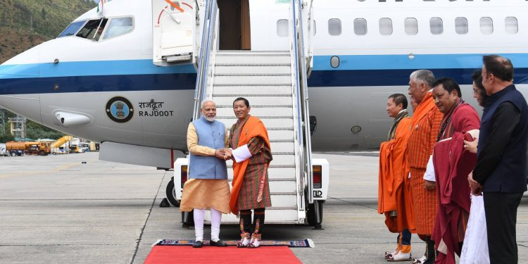 Modi arrives in Bhutan with hope to diversify partnership with the Himalayan Kingdom 1