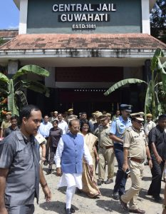 Assam Governor visits Guwahati Central Jail 1
