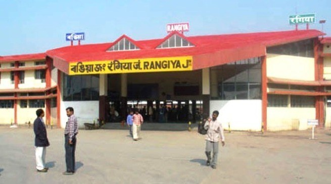 Rangiya junction station in Assam gets a new look 1