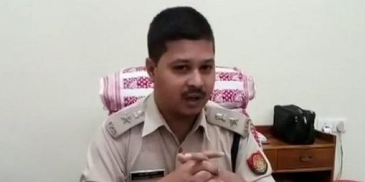 File image of Nagaon superintendent of police Shankar Brata Raimedhi.