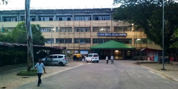 File image of Silchar Medical College and Hospital. Image courtesy: Twitter @himantabiswa