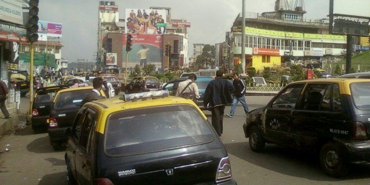 Taxi in Shillong