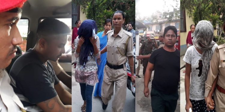 The arrested four persons