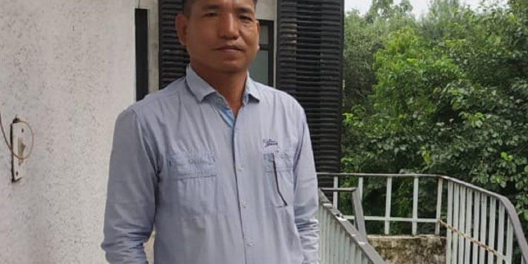 File image of vice principal of GHSS Dambuk in Arunachal Pradesh, Toni Pertin.