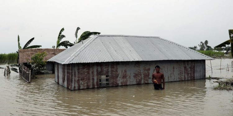 At least six million people have been affected by the floods while thousands of families were forced flee home since the first week of June
