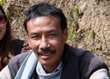 File image of senior photo journalist of Manipur Phanjoubam Santosh