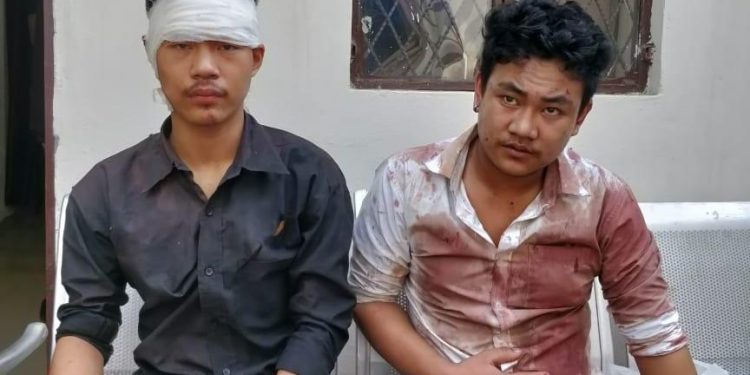 The two youths from Nagaland