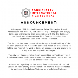 Assam: Adil, Utpal among others dissociate from Pondicherry film fest 1