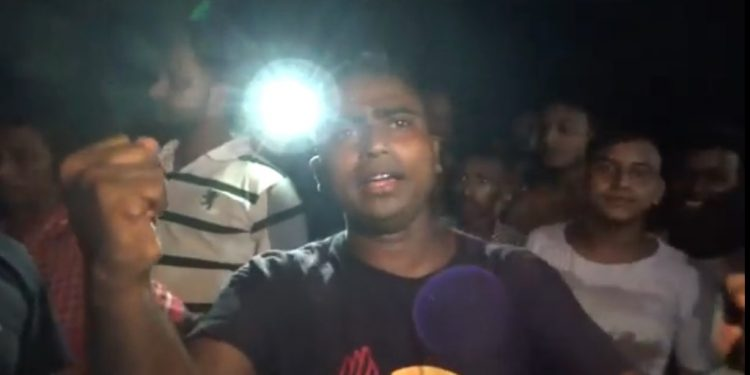 Angry resident of the city took to streets and staged protests against the power failure.
