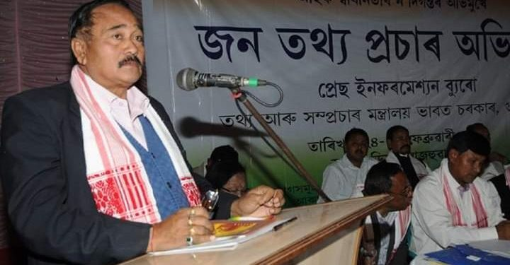 Sarat Saikia speaking at an event. (File image)