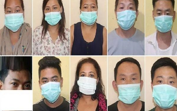 Nepal police on Saturday arrested ten people including four Chinese nationals for their alleged involvement in trafficking Nepali women to China as brides.