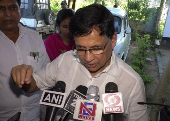 Former PWD minister Badal Chowdhury.Image: Northeast Now