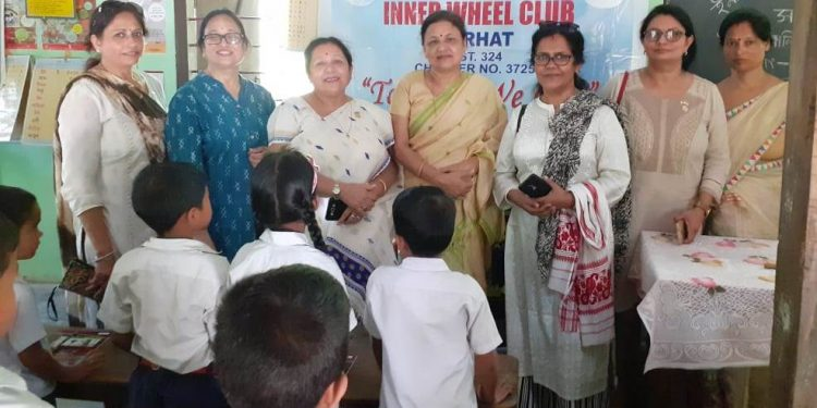 The Jorhat Branch of Inner Wheel Club launches Mission Mamta in Jorhat.