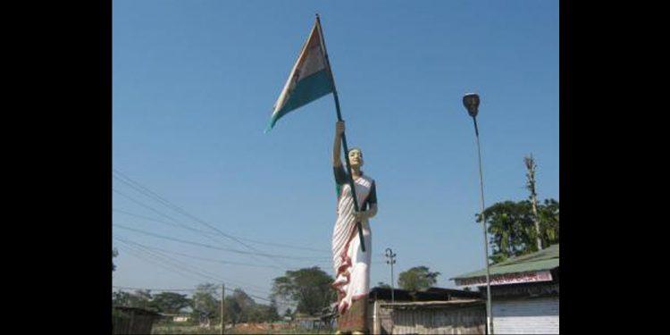 Statue of Kanaklata Barua