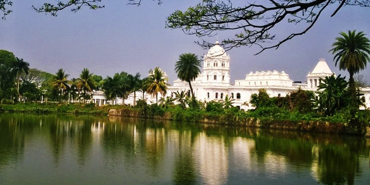 Agartla's Ujjayanta palace. Image: Northeast Now