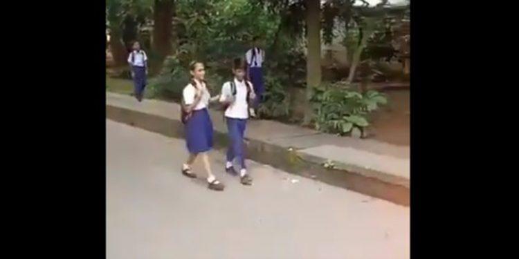 Cartwheeling kids