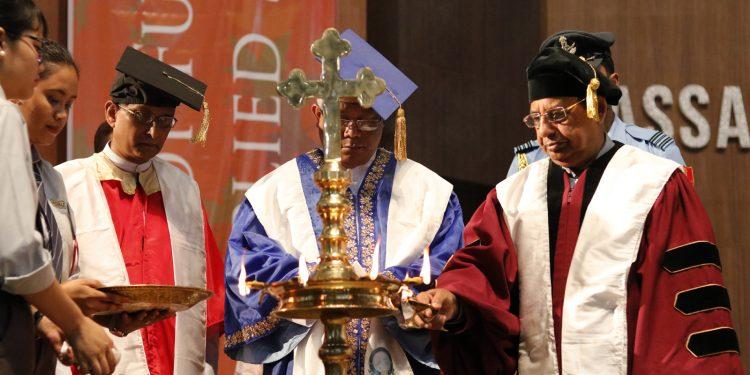 Don Bosco University convocation
