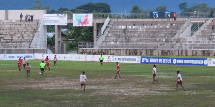 A moment from the match. Image: Northeast Now