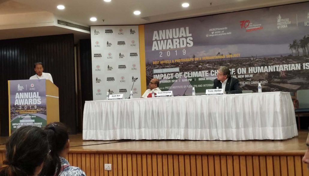 Northeast Now scribe receives PII-ICRC journalism award 3